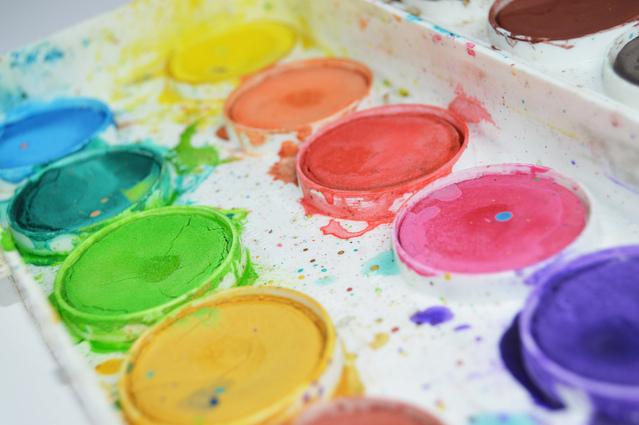 vattenfärger