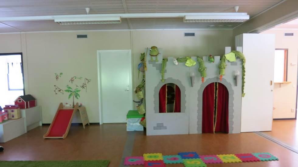 Dagbarnvårdarna i Lagga har flyttat till ny lokal