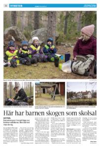 Artikel om Grytgöls Dagbarnvårdare