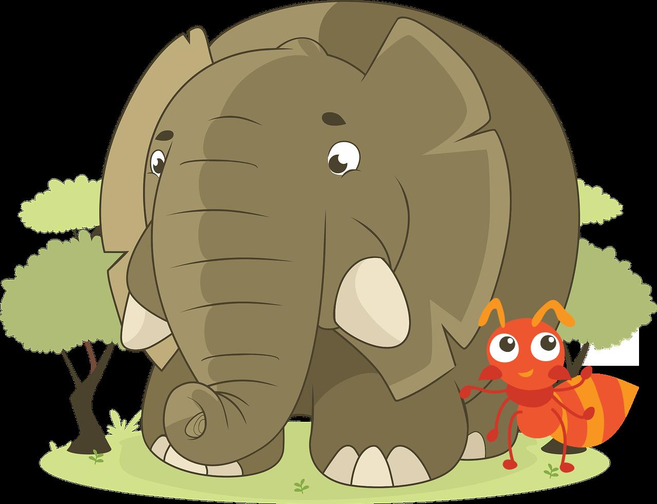 Myror och Elefanter i Tierp